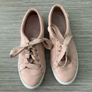 Tory Burch blush sneakers